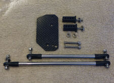 Tamiya Clodbuster/Clod Carbon Servo Plate with Linkage, steering kit