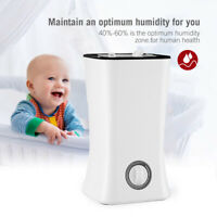 4L Large Volume Ultrasonic Home Aroma Humidifier Air Diffuser Purifier Atomizer