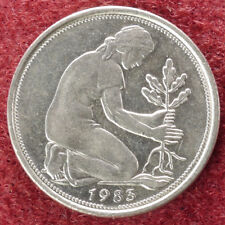 Alemania 50 Pfennig 1983 F (D2308)