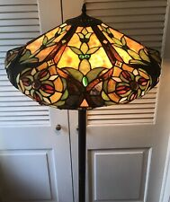 Design Toscano Art Nouveau Tiffany Style Stained Glass Style Floor Lamp(1)