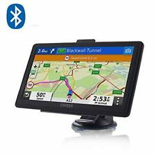 OHREX SAT NAV, 7 inch Touch Screen with Bluetooth + GPS Navigation For Car Truck