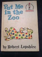 Vintage 1960 Beginner Books Dr. Seuss PUT ME IN THE ZOO By Robert Lopshire