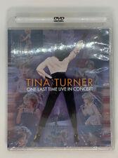 Tina Turner - One Last Time: Live in Concert (DVD, 2001 Eagle Vision) NEW SEALED