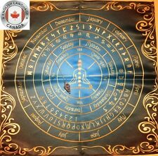Unique Altar Cloth for pendulum wicca witch CA