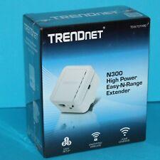 TRENDnet TEW-737HRE N300 High Power Easy N Wi-Fi Range Extender Signal Booster