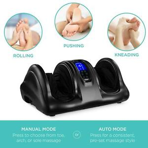 Therapeutic Kneading And Rolling Shiatsu Foot Massager With Roller And Remote