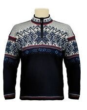 NEW! Dale of Norway Men/Women's  Midnight Navy Wool  VAIL  Sweater