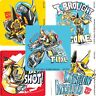 Transformers Stickers x 5 - Bumblebee Stickers Rescue Bots Birthday Party Favour