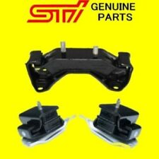Genuine Subaru Engine Motor Trans Mounts STi Impreza WRX Forester Legacy 5 Speed