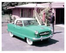 1954 Nash Metropolitan Convertible, Teal, Refrigerator Magnet