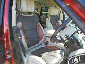 RANGE ROVER SPORT L494 AUTOBIOGRAPHY FRONT AND REAR SEATS IN CREAM / BROWN