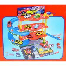Garage 3 niveaux + 4 véhicules miniatures