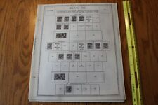 A8 Lot of Ireland Eire Minkus binder 25 Pages 1922-1990 w/ stamps