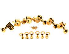 Kluson Revolution H Style Locking Tuners Gold KTL-3805GL