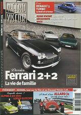 RETROVISEUR n°202 FERRARI 2+2 R5 TURBO A310 1600 LOTUS ELITE 503 ALLARD J2