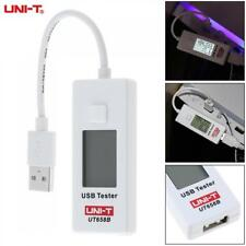 UNI-T UT658B 3.5A 10CM 9V USB Voltage Monitor Current Meter Capacity Tester LCD