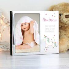 Personalised Baby Photo Album Baby Unicorn Album 4x6, Christening First Years