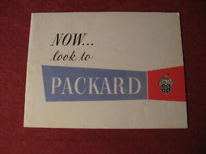 1953 Packard Sales Brochure Booklet Catalog Book Old Original
