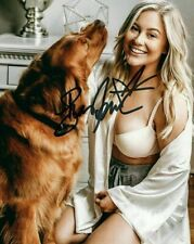 Shawn Johnson Autographed 8 x 10 Glossy Photo Reproduction