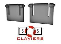 Pieds de remplacement pour clavier Logitech Internet 1500 Laser Cordless Desktop
