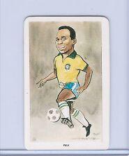 PELE 1979 VENORLANDUS WORLD OF SPORT BRAZIL MINI SOCCER CARD! #11 of 48! LEGEND!