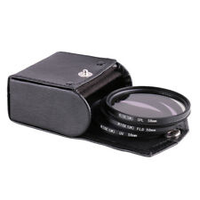58mm UV CPL FLD Filter kit for Canon EOS 100D 700D 600D 1100D EOS T1i T2i T3i