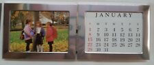 """20 x Double 3"""" x 5"""" Picture Frame / Calendar Polished Stainless NIB"""
