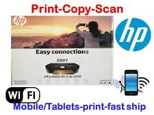 New HP Envy 5010/5055 Printer-Wireless-Copy-Scan-Air Print-Touchscreen+Free INK