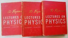 The Feynman Lectures on Physics, 3 Vol. Set/ Feynman, Richard P. 1964 /Reprints