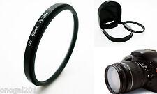 Filtro UV 58mm Ultravioleta para Camaras de Fotografia Canon EOS 500D 1000D 4063