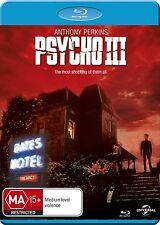 PSYCHO III (1986 Anthony Perkins)  3  - Blu Ray - Sealed Region B