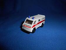 German Ambulance #2 Emergency Rescue Vehicle Toy Plastic Toy Kinder Surprise