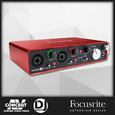 Focusrite Scarlett 2i4 USB Audio Interface w/ Pro Tools & Ableton Live(2nd Gen)