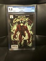 absolute carnage #1 CGC 9.8 4th Print. Very Rare. Fourth Printing. Donny Cates