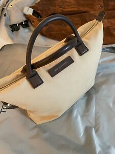 Coveted WANT Les Essentiels $250 O'Hare Tote, Rare Sand & Mahogany Colorway