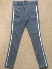NEXT Women's Grey Mid Rise Highwaisted Superstretch Skinny Fit Jeans, UK10, £35