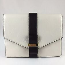 NWT KATE SPADE Josephine Parchment Drive In Cream And Black White Cross Body