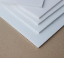PTFE Teflon Platte   Zuschnitt von 2x5cm bis 9x50cm Dichtung weiß 0,5 mm - 10 mm