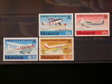MONTSERRAT '1981 * MH 472/475 YT 7,00 EUR AIR MAIL,TRANSPORT,AVIATION,AIRPLANES