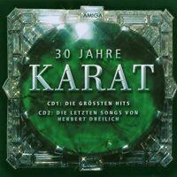"KARAT "" 30 JAHRE KARAT"" 2 CD ALLE HITS NEUWARE!!!!!!!!"