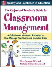 The Organized Teacher's Guide to Classroom Management with CD-ROM by Kimberly Pe