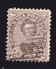 1859-1864 Canada SC# 17-First Cents Issue-HRH Prince Albert-Lot# CUO4-Used