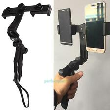 Portable Universal Stand Tripod Mount Dual Holder for iPhone Samsung Cell Phone