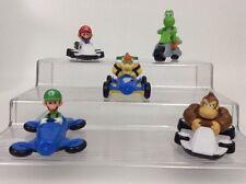Nintendo Mariokart Figures Lot Vehicles Mario Yoshi Luigi DK Bowser Cake Toppers