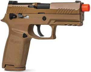 Sig Sauer ProForce M18 Green Gas Blowback Airsoft Pistol Coyote Tan