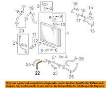 HONDA OEM Radiator-Cooler Line 25211RYE016