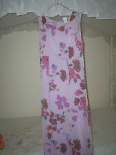 Designer Women's Clothing Size 8,Printed Maxi Dress,FREE post with tracking