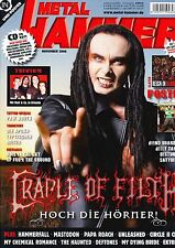 Magazin Metal Hammer 11/2006,Trivium,Blind Guardian,Billy Talent,Cradle of filth