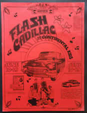 Flash Cadillac Concert Poster 1971 Vancouver