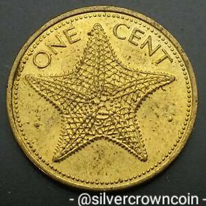 Bahama Islands 1 Cent 1984. KM#59. One Penny Coin. Starfish. Bahamas 🌟